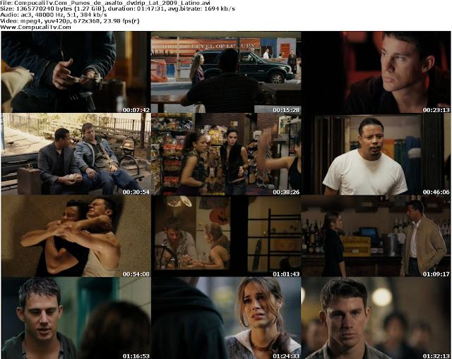 Puños de Asalto Fighting DVDRip Español Latino Descargar