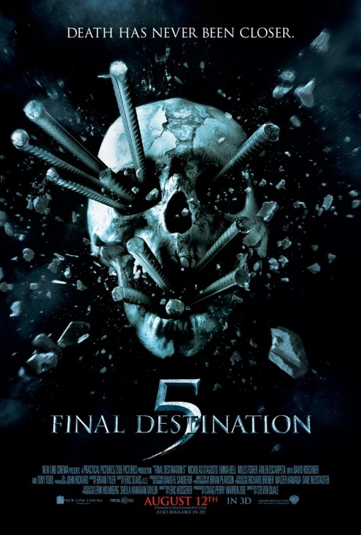 Poster de Destino Final 5