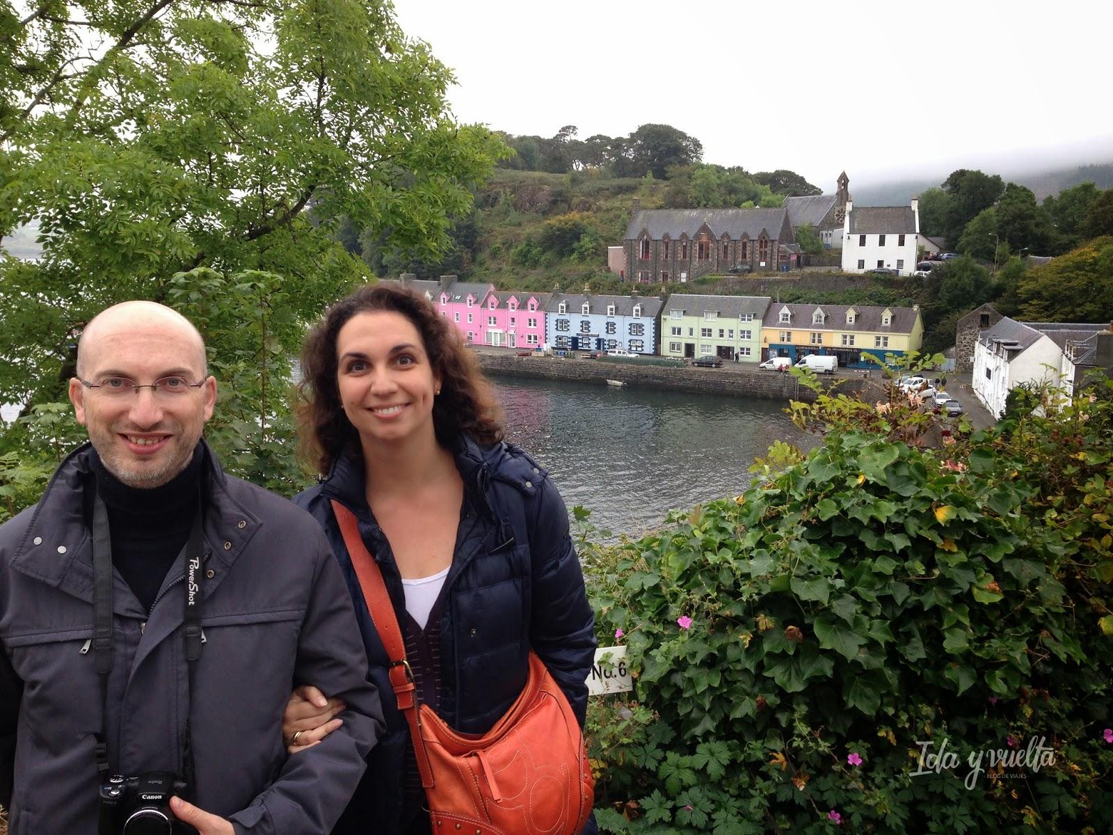 Portree en la isla de Skye