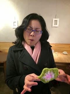 お野菜買いにきたのに、何故かコースター編んじゃった~!