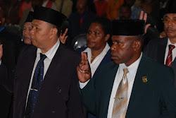 Pelantikkan Anggota DPRD Mimika