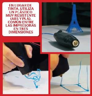 Dibujos en 3D, en el aire
