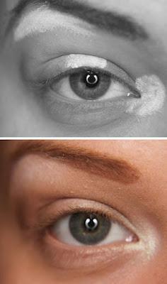 Maquilhagem - Olhar mais luminoso