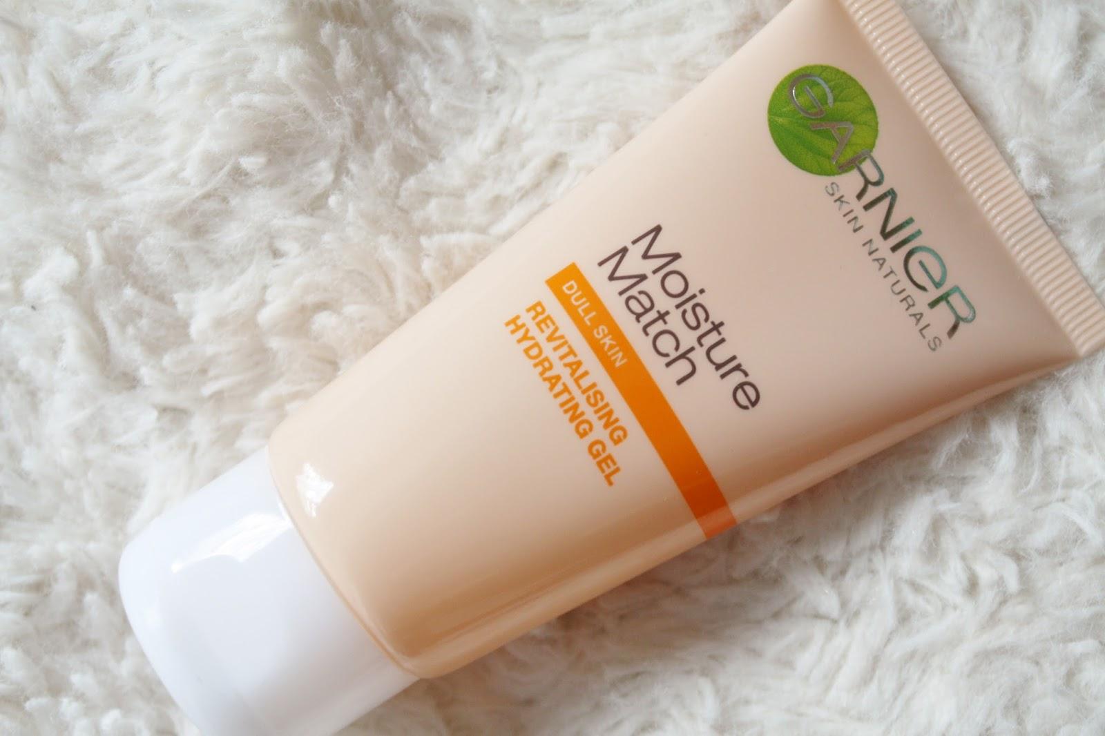 Review - Garnier Moisture Match Revitalising Hydrating Gel