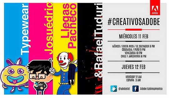 Nuevo evento Adobe Online #CreativosAdobe