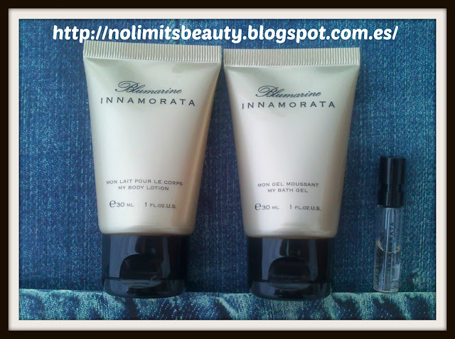 Kit de Innamorata de Bluemarine: Eau de Parfum, Body Lotion y Bath Gel
