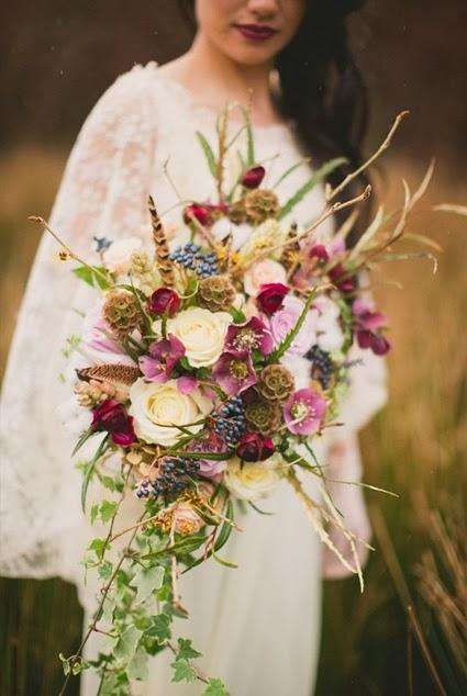 färgstarka höstbuketter, höstbuketter, autumn boluquets, colourful autumnj bouquets