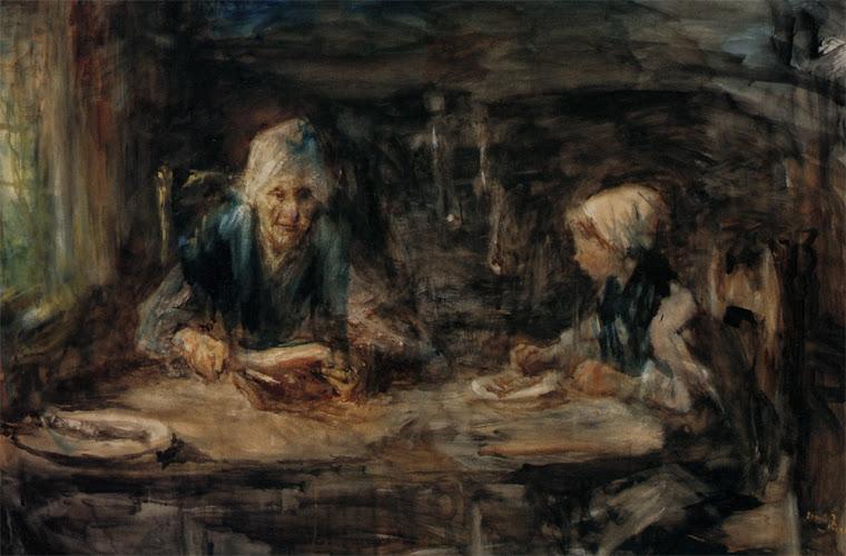 PÓS-IMPRESSIONISMO: ISRAELS, Jozef (1824-1911)