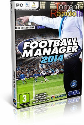 Download Capa 3D Game Football Manager 2014 PC