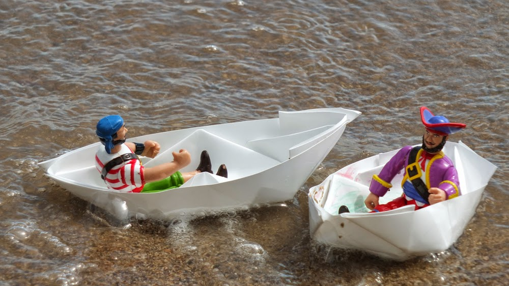 diy rock paper boats that float heart stone paper