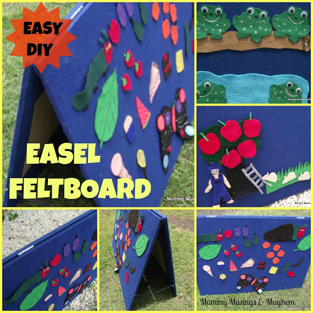 Easy homemade feltboard