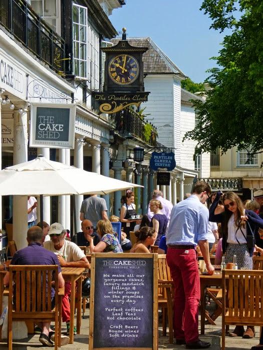 Tunbridge Wells, Pantiles, visit Kent