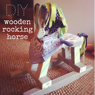 Diy wooden rocking horse