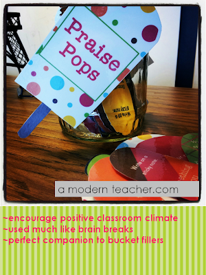 Classroom Celebrations: Praise Breaks