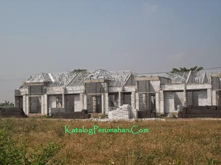 Pembangunan block baru Mandiri Residence