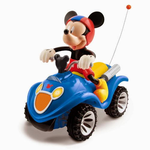 JUGUETES - DISNEY Mickey Mouse : Club House  Quad Mickey RC | Radiocontrol | Coche Teleridigido  Producto Oficial | IMC Toys 180840 | A partir de 3 años