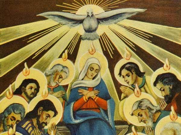 Esprit de Vérité, qui es venu à nous le jour de la Pentecôte, prière de saint Jean Paul II