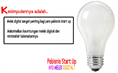 Kesimpulan__Pebisnis Start Up Ayo Melek Digital