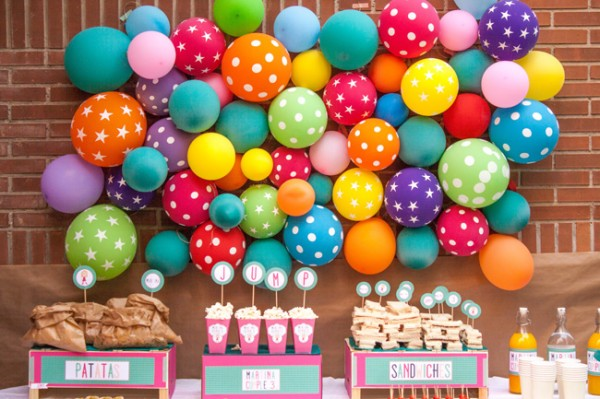 Decoracion Italiana Para Fiestas ~ Globos+de+fondo+para+mesa+de+dulces jpg