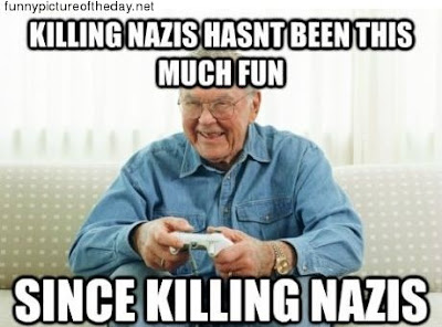 Grandpa Funny Killing Nazis Xbox 360