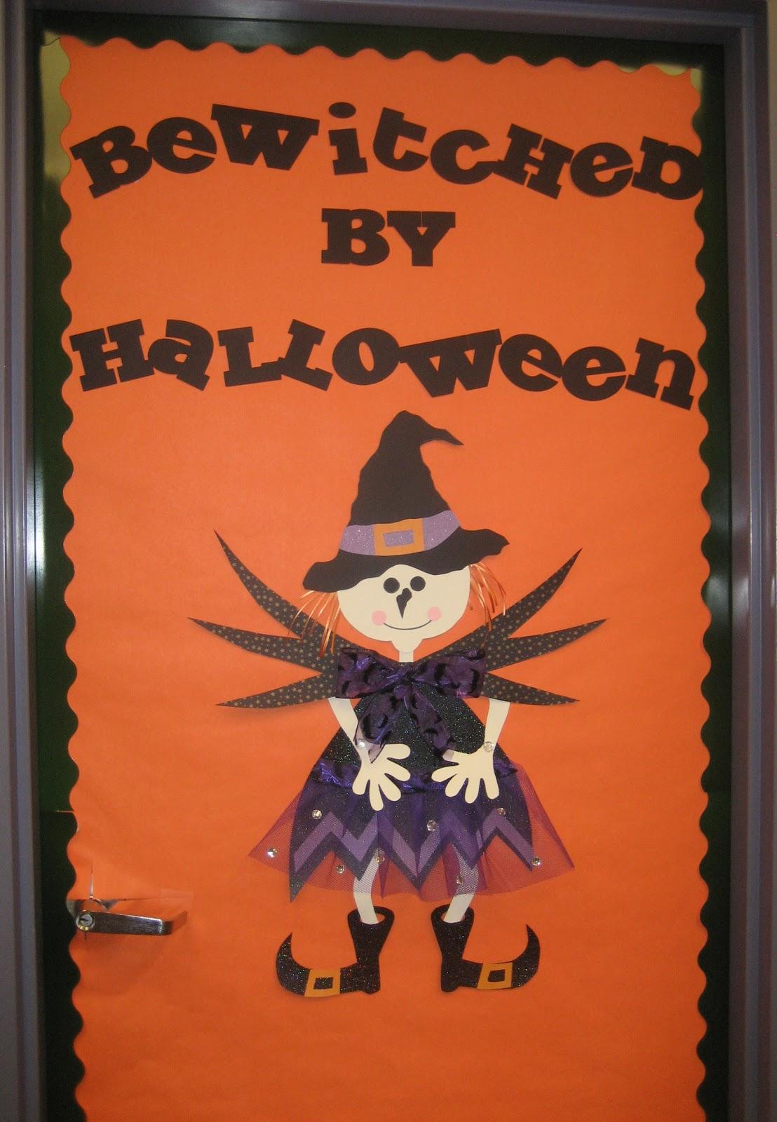 Granny Goes to School Little Witch Door Decor and Freebie ~ 024145_Halloween Door Contest Winners