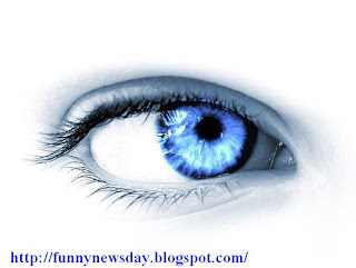 عين زرقاء eye blue