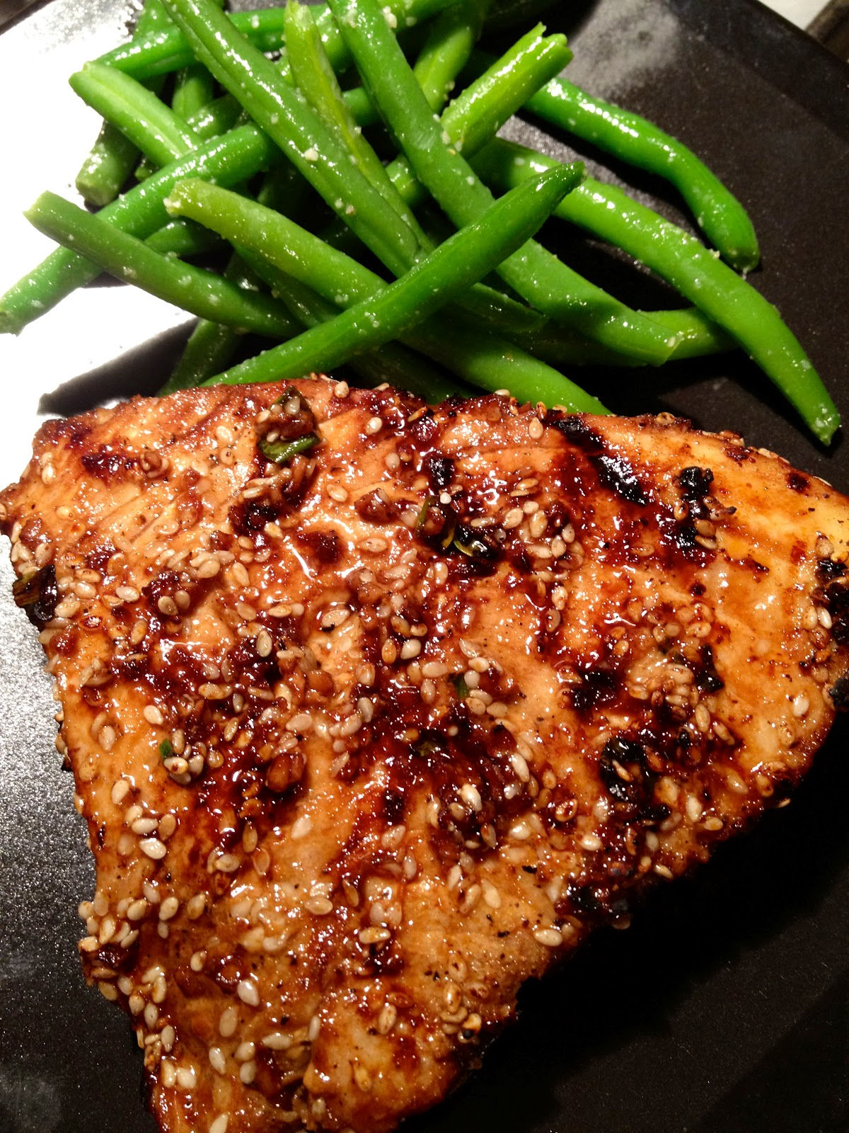 grill to medium high heat and oil the grates grill tuna steak for 3 ...