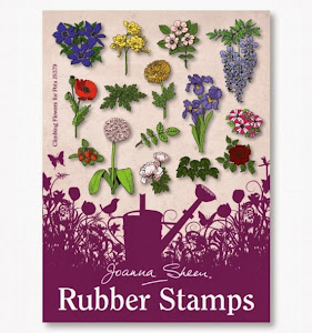 Joanna Sheen Stamps - Climbing Flowers for Pots