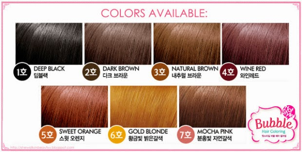 Review Etude House Hot Style Bubble Hair Coloring In