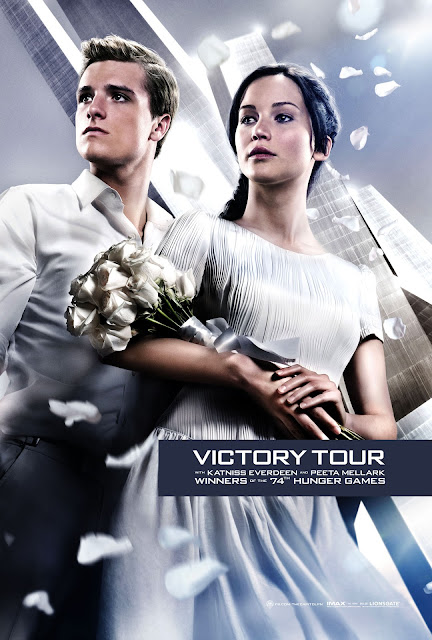 The Hunger Games Catching Fire 2013 Movie Victory Tour Poster in HD