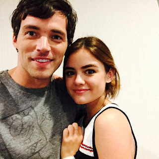 PLL 6x18 Ian Harding and Lucy Hale