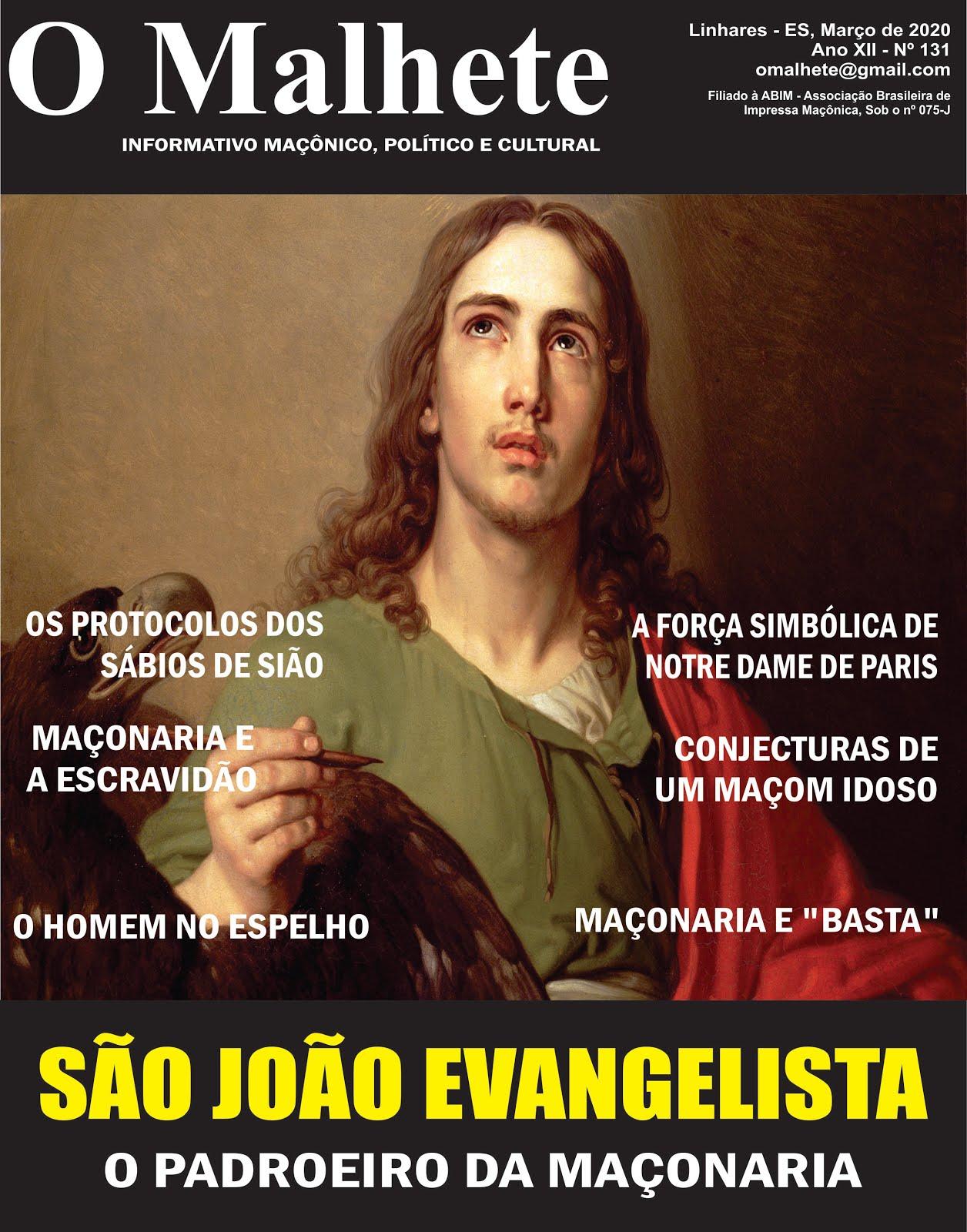 O MALHETE Nº 131 - MARÇO DE 2020