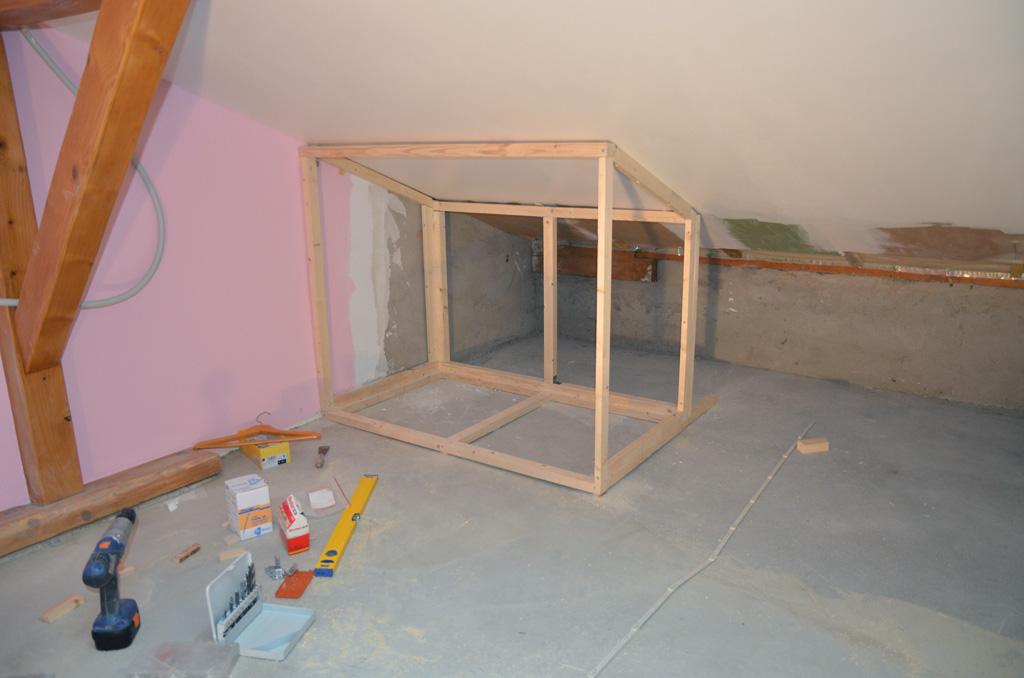 Rénovation De Ma Villa: 2Ème Chambre Grenier