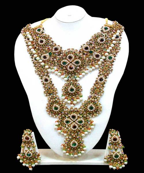 Pakistani Bridal Jewellery Set Picture 5