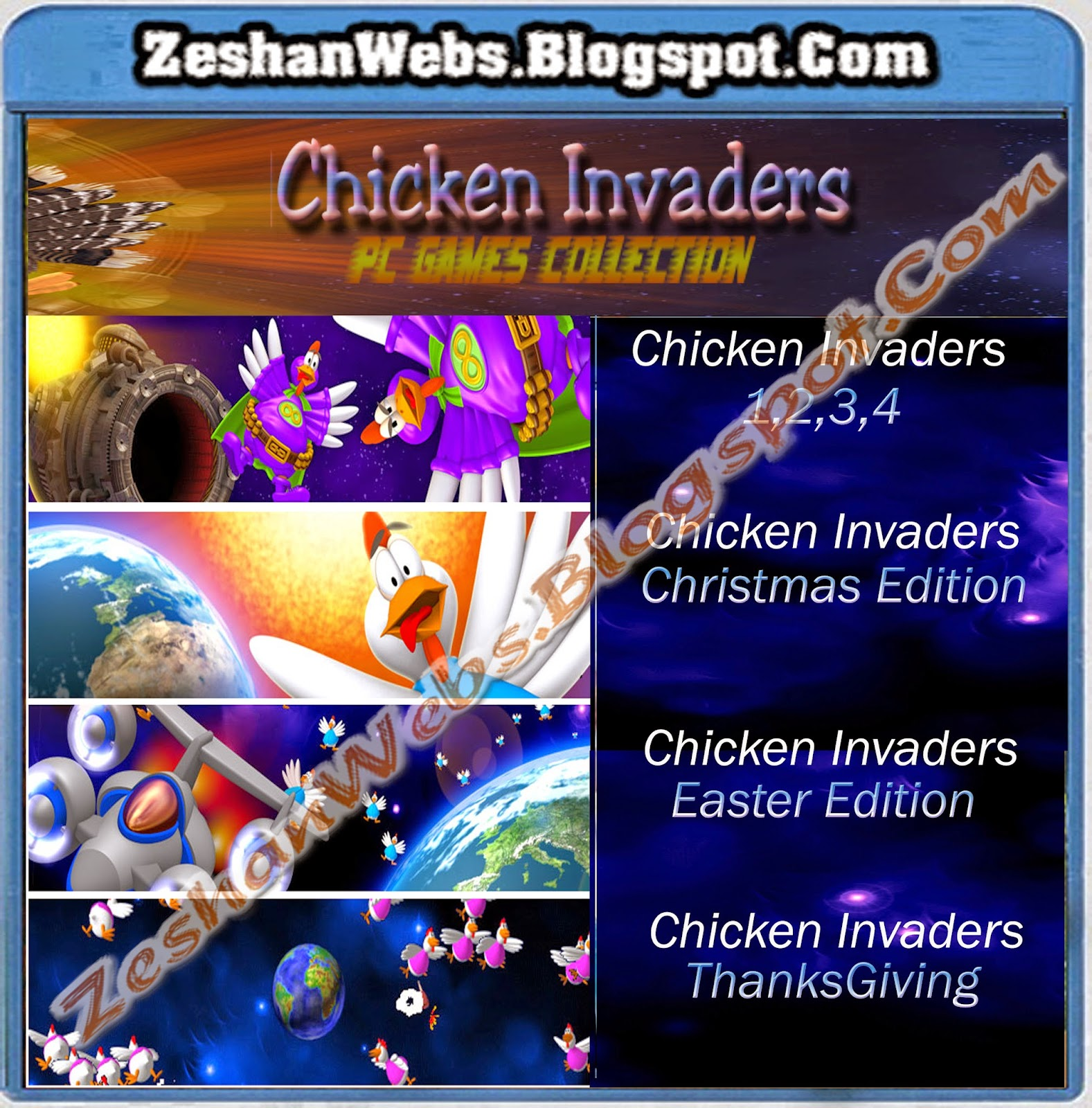 chicken invaders games collection free download free pc download