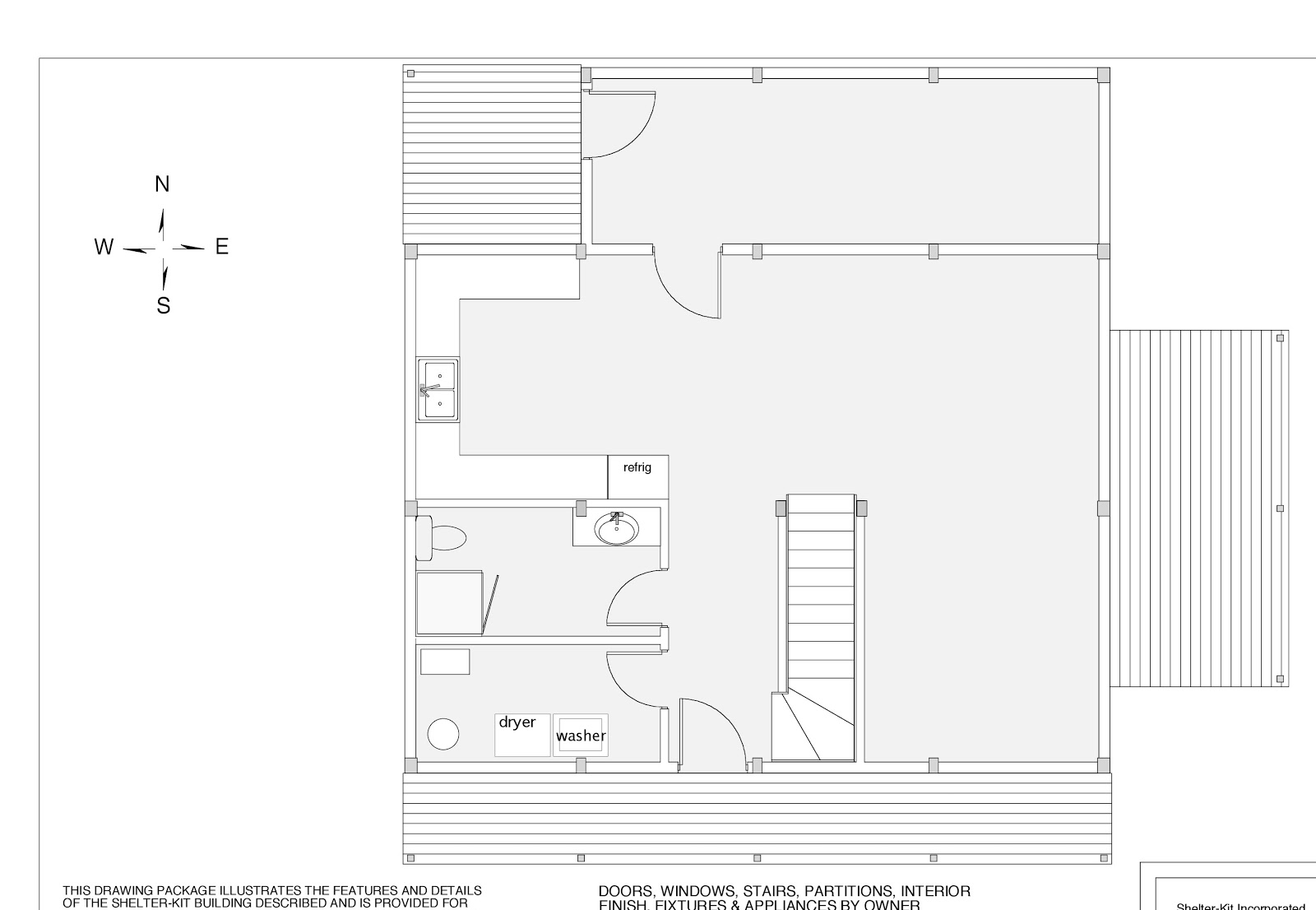Green in greenville preliminary drawings of the house for Envelope house plans