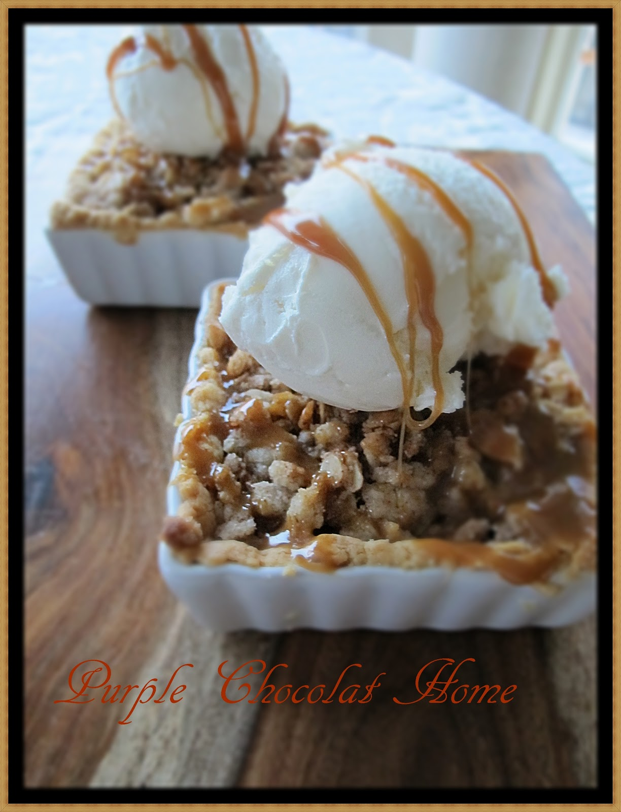 Apple Pudding Pie And A Fabulous $200 Giveaway - Purple Chocolat Home