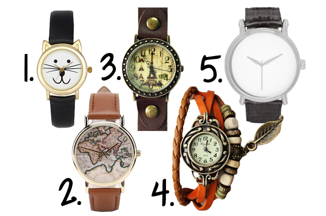 5 Great Watches for Under $50
