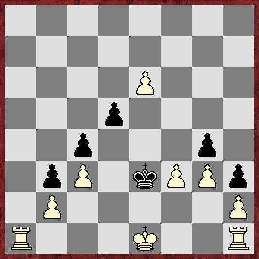 A chess problem; white to play and mate in three