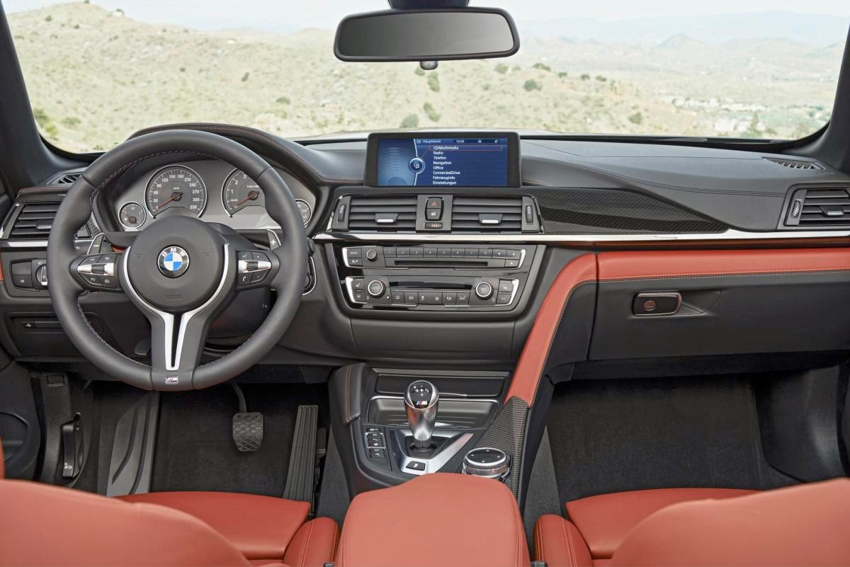 2014 New BMW M4 Convertible Interior