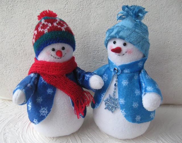 Фото снеговика своими руками
