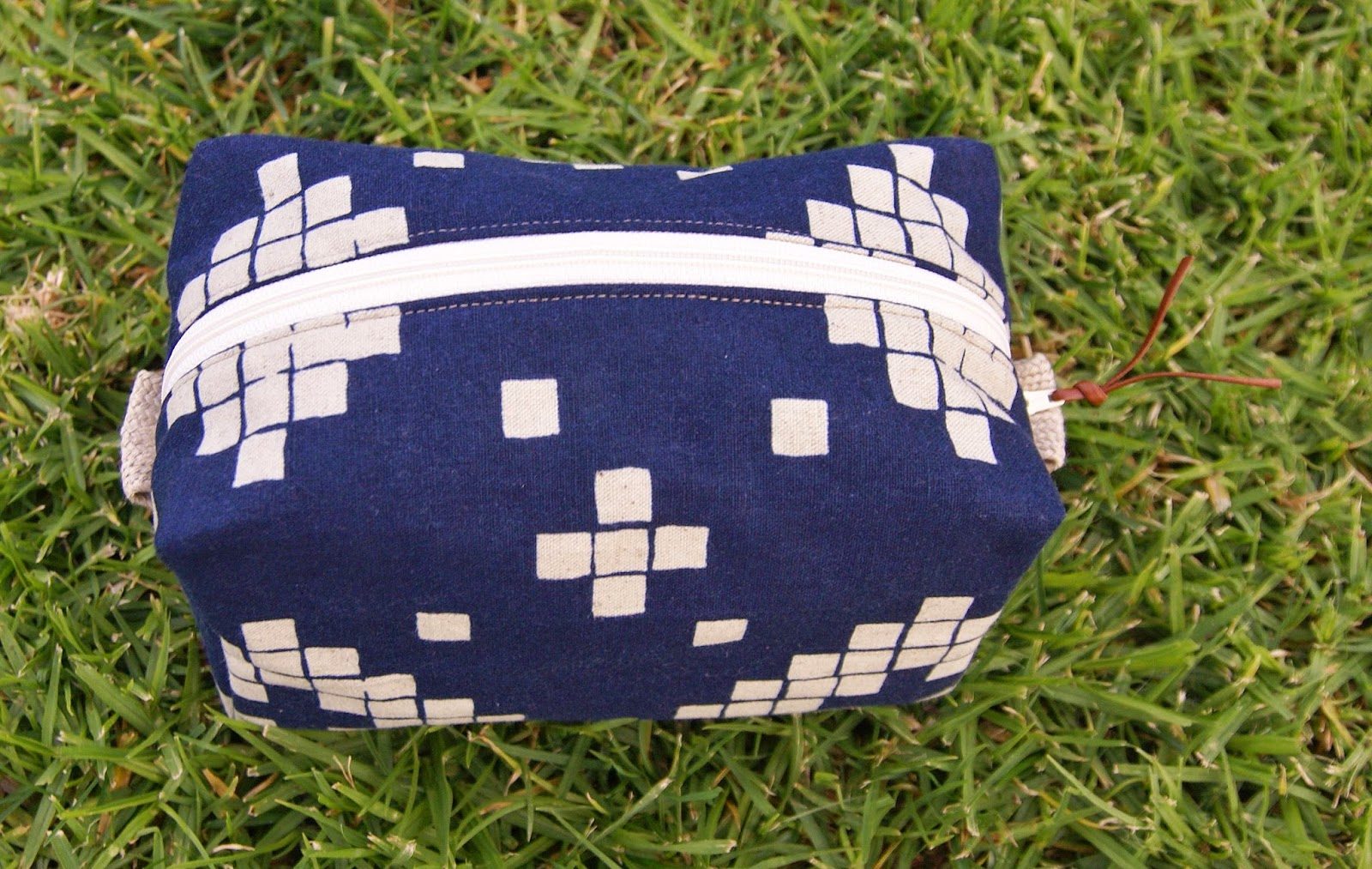 Cotton + Steel Dopp Kit by Fabric Mutt