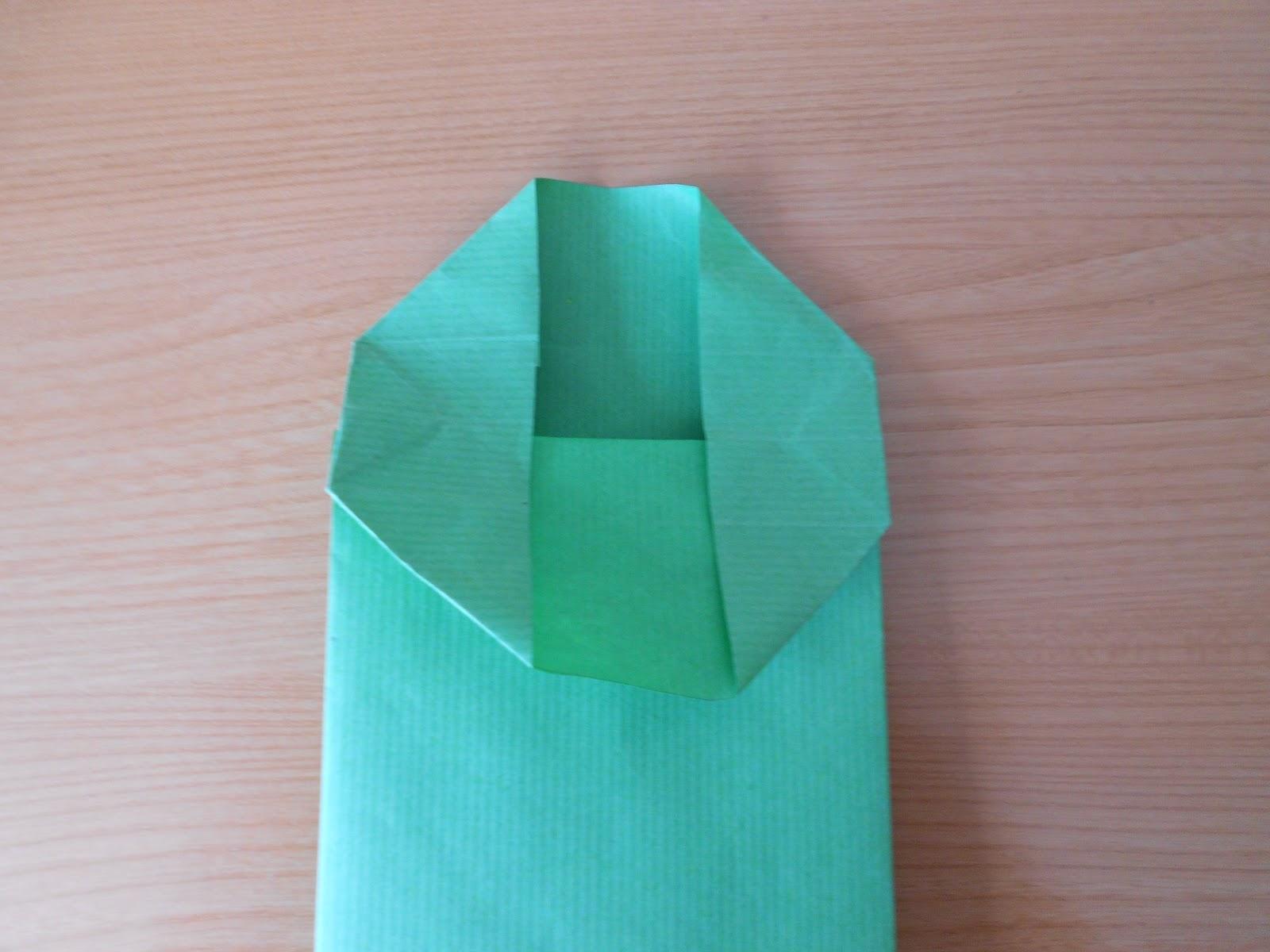 Mar amanual c mo hacer bolsas peque as de papel kraft - Hacer bolsas de papel en casa ...