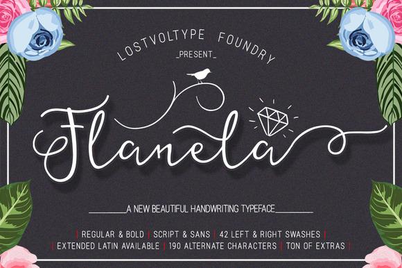 the-flanela-font-free