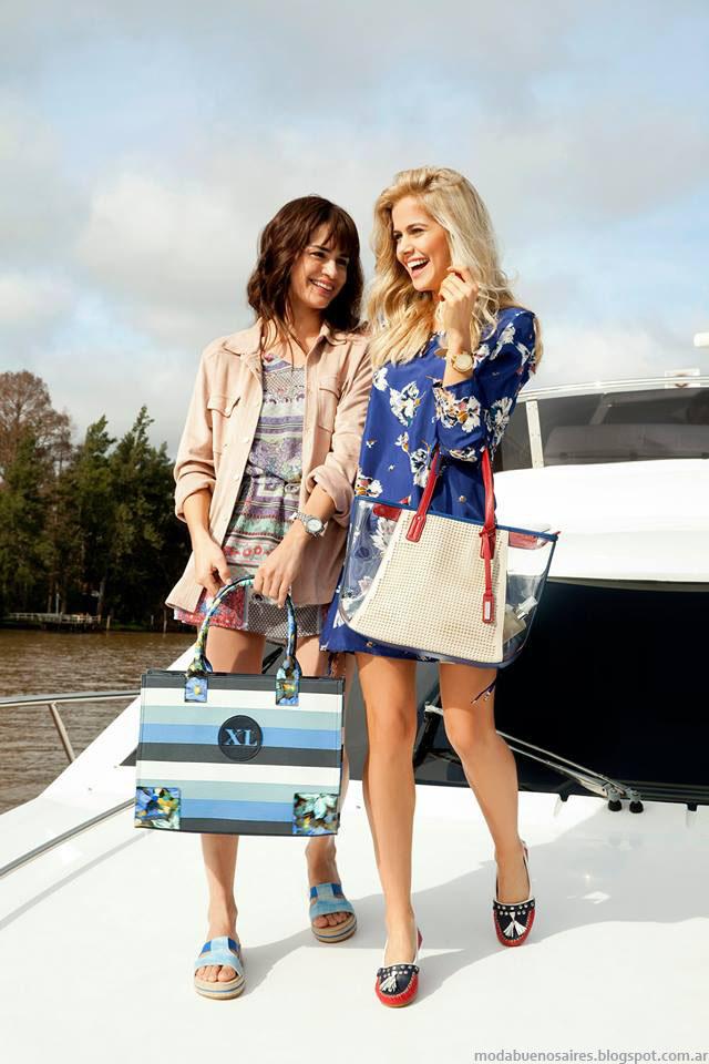 Moda primavera verano 2016 carteras y bolsos XL.