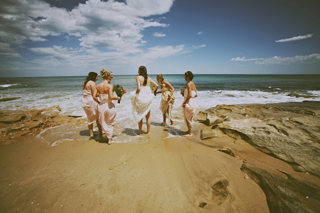 great ocean road beach wedding photography