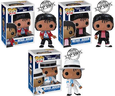 "Michael Jackson Pop! Rocks Series - ""Beat It"" Michael, ""Billie Jean"" Michael & ""Smooth Criminal"" Michael"