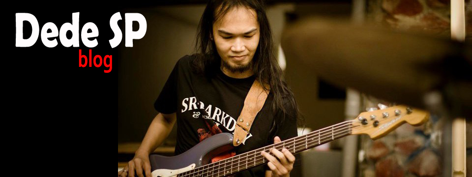Bassist Indonesia - Dede SP blog