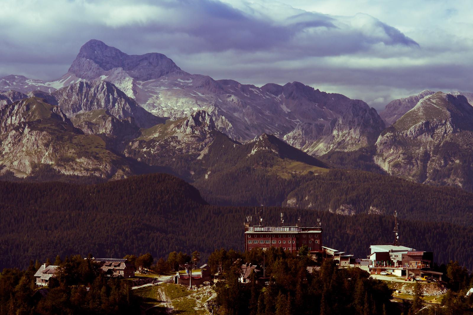 Triglav, Alpy Julijskie. Wspinaczka górska. fot. Łukasz Cyrus
