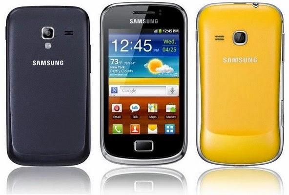 Spesifikasi dan Harga Samsung Galaxy Mini 2 Terbaru